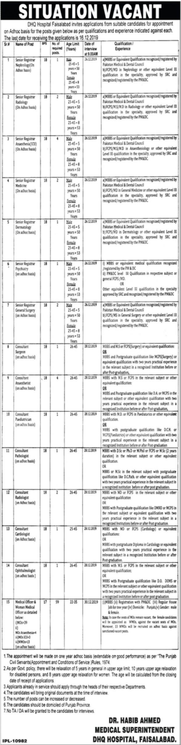DHQ-Hospital-Faisalabad-Jobs-2019