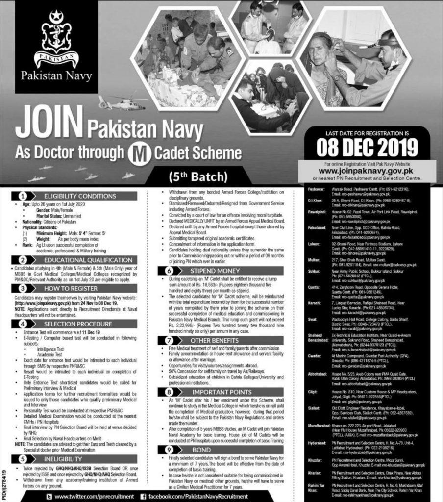Join-Pakistan-Navy-through-M-Cadet-Scheme-2019