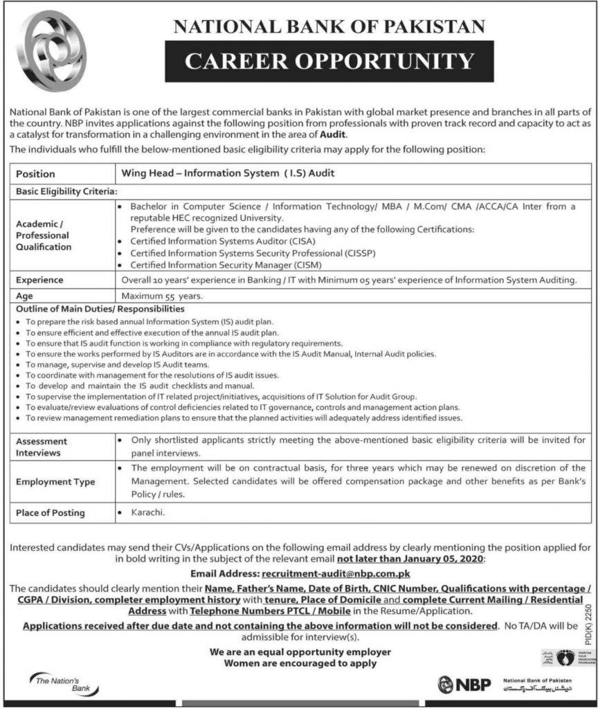 National-Bank-of-Pakistan-NBP-Jobs-2019-latest-december