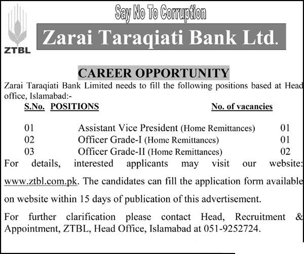 ZTBL-Jobs