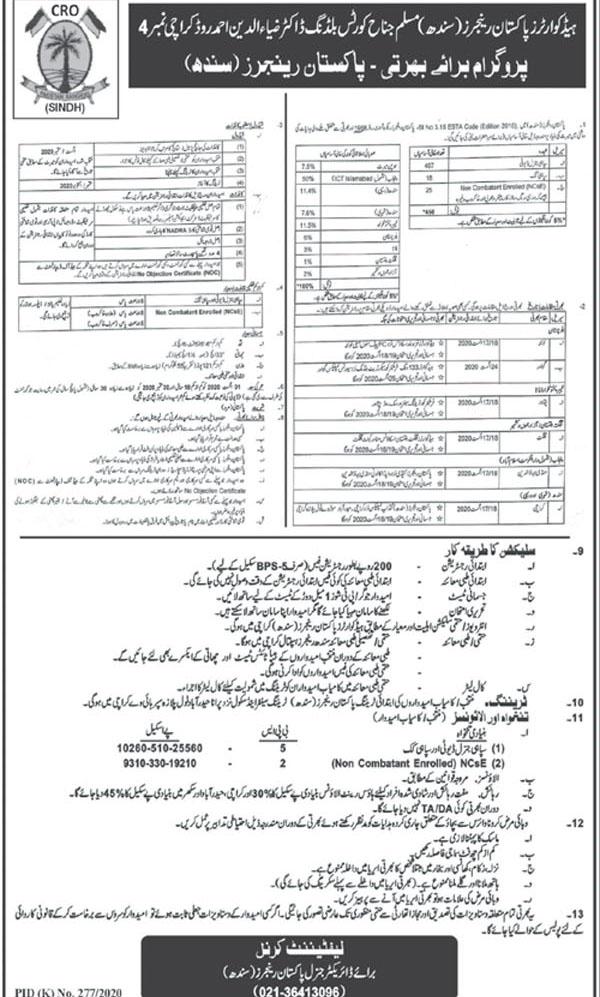Pakistan-Rangers-Jobs-2020-Karachi
