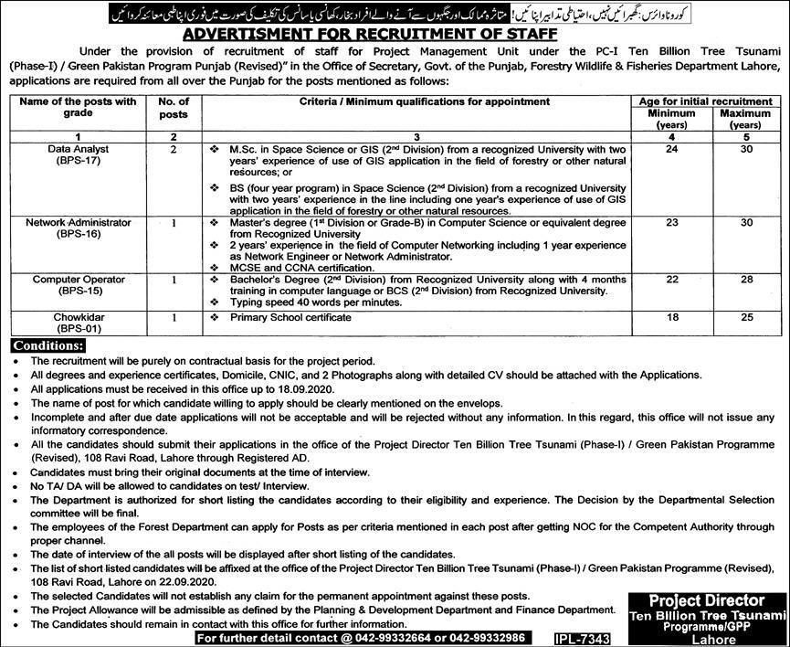 project-management-unit-PPHA-jobs-2020