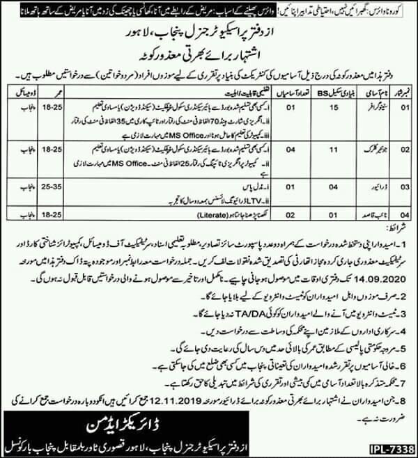 Office-Of-Prosecutor-General-Punjab-jobs-2020