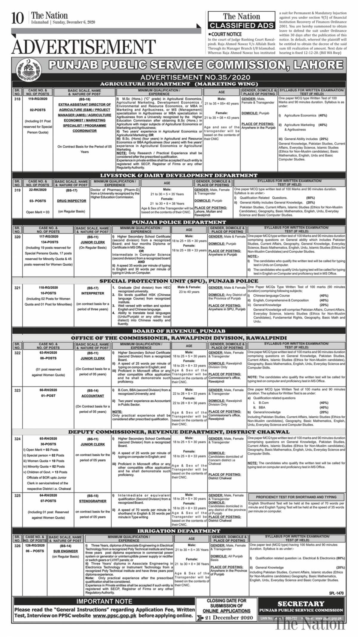 Punjab-Public-Service-Commission-PPSC-Punjab-Police-Jobs-2020.