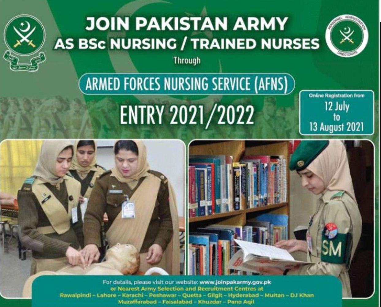 Join-Pakistan-Army-Jobs-2021-as-Nurse
